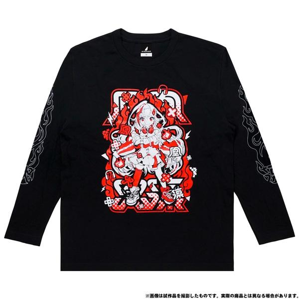電音部 ーdenonbuー MNG × 電音部ロングTシャツ 鳳凰 火凛 L