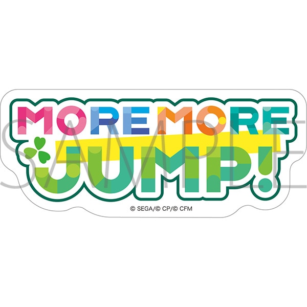 プロジェクトセカイ カラフルステージ! feat. 初音ミク ユニットロゴステッカー MORE MORE JUMP!