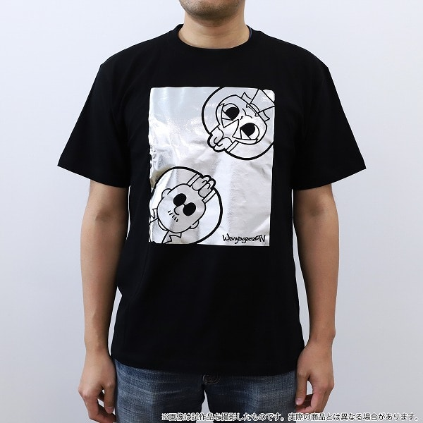 マフィア梶田と中村悠一の「わしゃがなTV」 Tシャツ 描きおろし XLサイズ