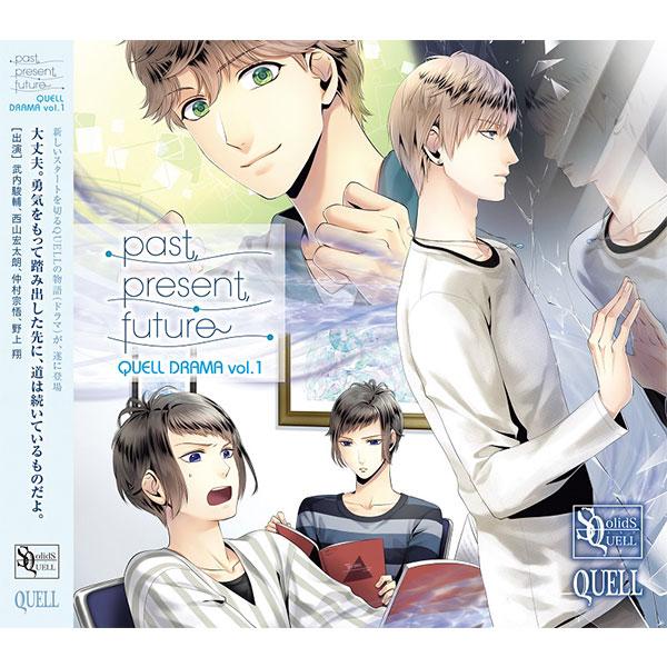 SQ QUELLドラマ1巻「past, present, future」