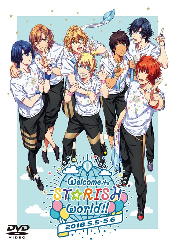 【DVD】うたの☆プリンスさまっ♪ ST☆RISHファンミーティング「Welcome to ST☆RISH world!!」