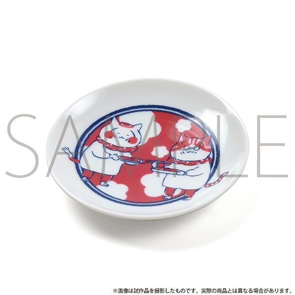 トラとミケ 豆皿