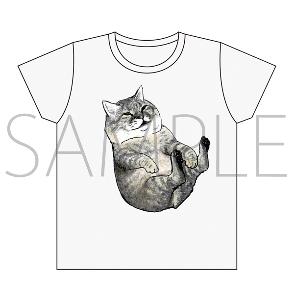 俺、つしま Tシャツ つーさん抱っこ