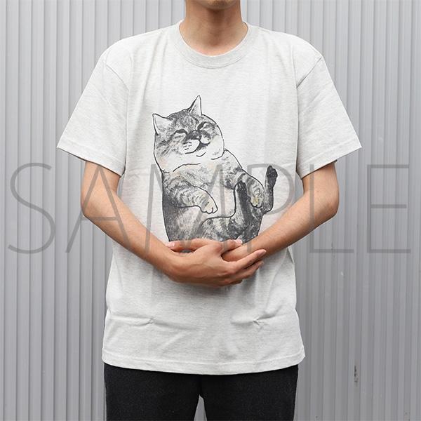 俺、つしま Tシャツ つーさん抱っこ 男性Lサイズ