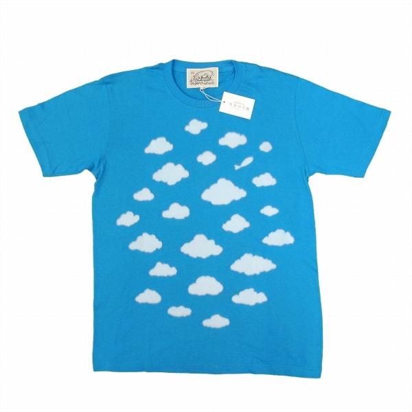 天気の子展 beanxious  Tシャツブルー L